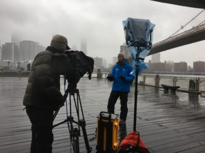 IMG 7468 400x300 Go To Team Columbia Crew | The Weather Channel   Winter Storm Ezekial Coverage