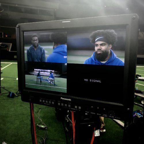 Go To Team Dallas Crew | NFL Network   Ezekiel Elliott Interview