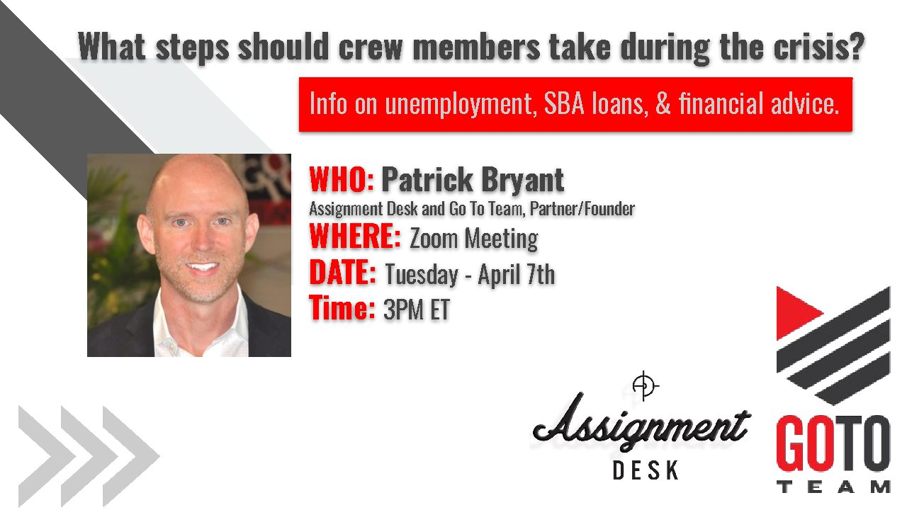 Patrick Webinar 2 pdf WEBINAR: What steps should crew members take during the crisis?