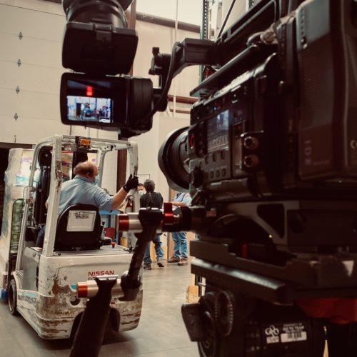 Go To Team Columbia, SC Video Camera Crew helps Walmart make a Food Bank Donation