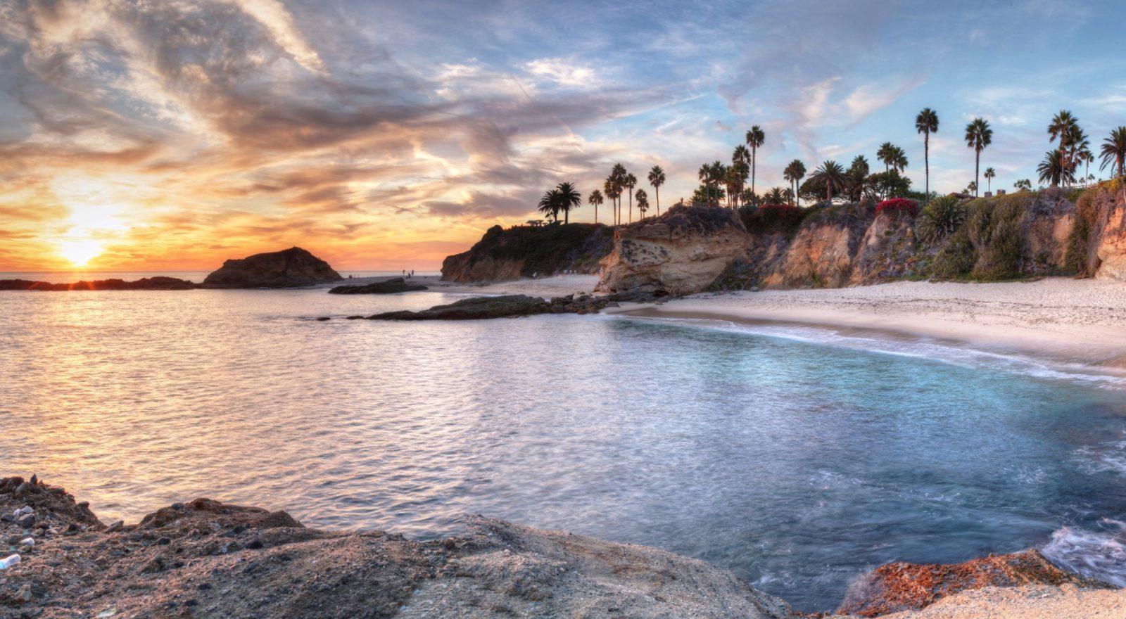 Treasure Island sunset view