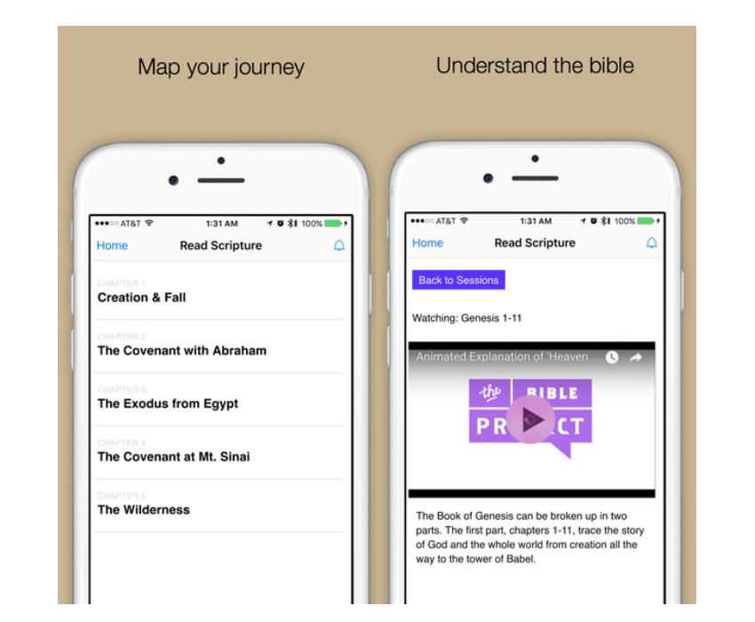 Great Bible Reading app screenshot