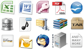 Hundreds of File Types