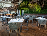 photo of the interior of Herringbone restaurant