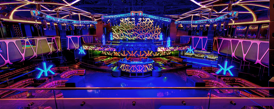 Hakkasan Nightclub at MGM Grand in Las Vegas