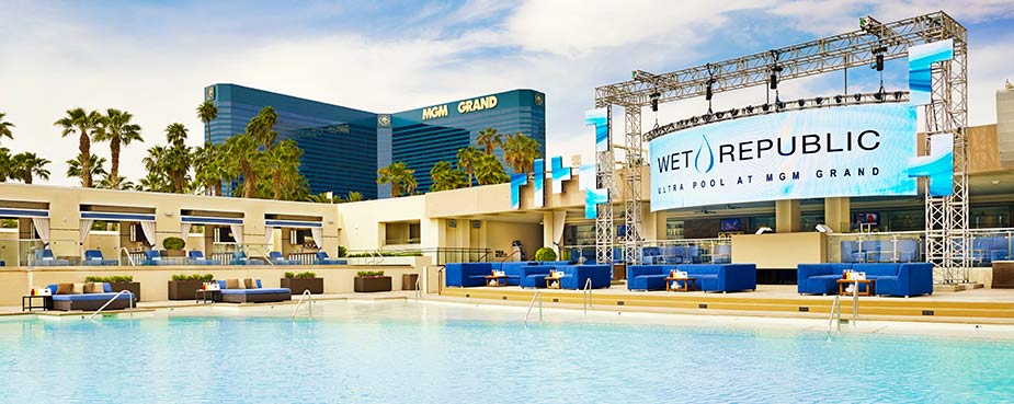 Wet Republic Ultra Pool at MGM Grand Las Vegas