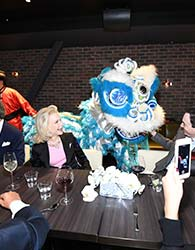 LYNN WYATT HOSTS FRIENDS AND SUPPORTERS OF THE ROTHKO CHAPEL AT YAUATCHA HOUSTON