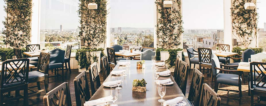 Ivory on Sunset Restaurant in West Hollywood