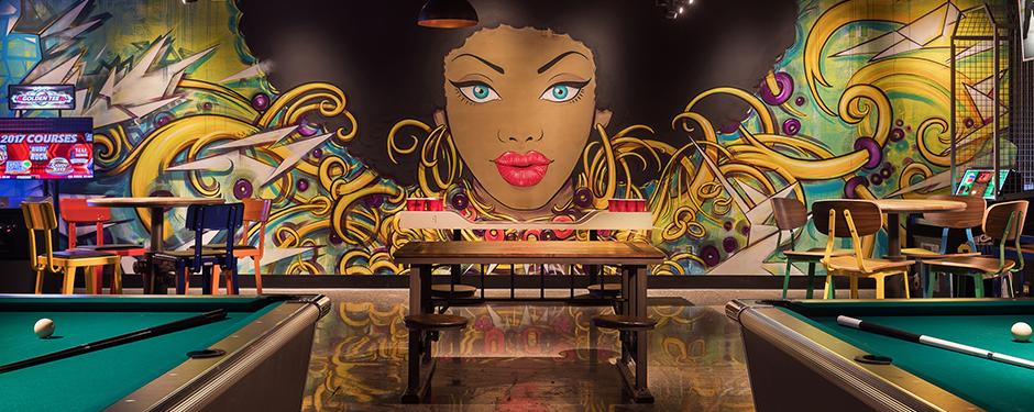 LEVEL UP Adult Arcade Bar at MGM Grand Las Vegas