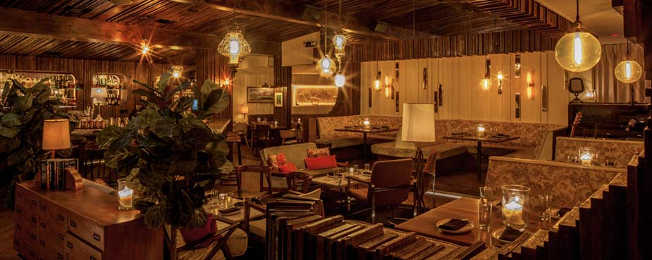 The Nice Guy Restaurant & Lounge in West Hollywood