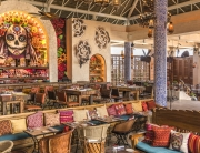 Photo of the interior of Casa Calavera restaurant
