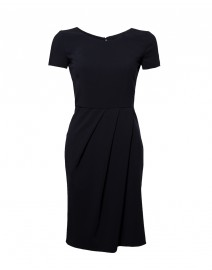 Midnight Blue Seasonless Wool Dress | Armani Collezioni