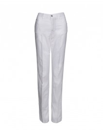 Stretch Brushed Cotton 5-Pocket Pants | Armani Collezioni