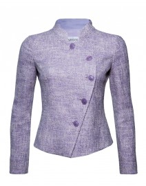 Lurex Tweed Half Moon Jacket | Armani Collezioni