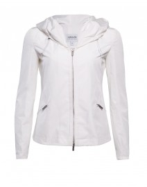 Poly-Cotton Blend Waterproof Jacket | Armani Collezioni