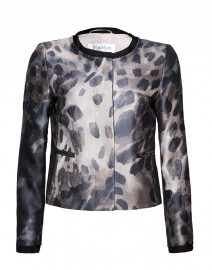 Camilla Printed Cotton Blend Jacket | MaxMara