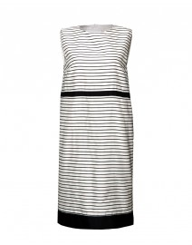 Paggio Striped Cotton Blend Dress | MaxMara