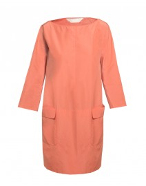 Perle Cotton Taffeta Trapeze Dress | MaxMara