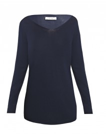 Sweater with Georgette Back | D.Exterior