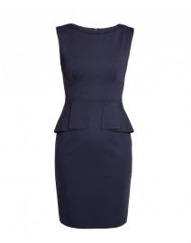 Maura Viscose Jersey Peplum Dress | Elie Tahari