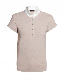 Stretch Cotton Polo | Peserico