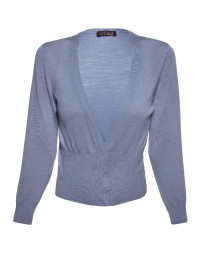Wool, Silk and Cashmere Cardigan | Peserico