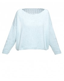 Charlotte Cashmere and Cotton Sweater | Hania by Anya Cole