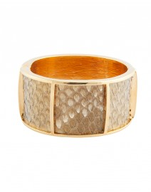 Wide Section Cuff with Python | Kara by Kara Ross