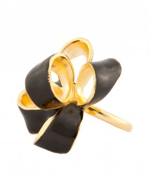 Enamel Bow Ring | Kenneth Jay Lane
