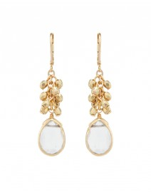 Tessa Rock Crystal Drop Earrings | Rachel Reinhardt