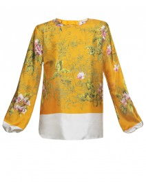 Printed Silk Blouse | N°21