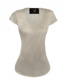 Tradd Scoop Neck Top | Troubadour