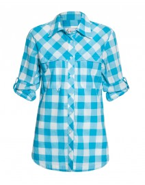 Checkered Fishing Shirt | Finley