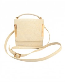Lola Lemon Small Satchel | Laura Vela