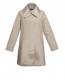 Beige Italian Follies Coat | Jane Post