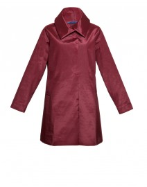 Burgundy Italian Follies Coat | Jane Post