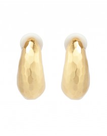 Geneva Gold Clip Earrings | Julie Vos