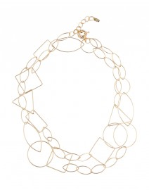 Signature Geometric Chain Necklace | Claudia Lobao