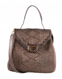 Trinity Woven Handbag | Kara by Kara Ross