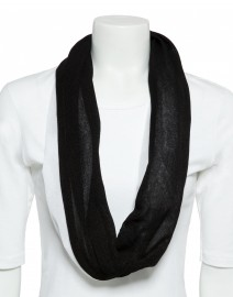 Stretch Cotton Circle Scarf | Gio'Guerreri