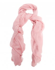 Rose Modal and cashmere scarf | Scialle
