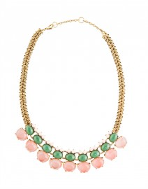 Rose and Jade Drop Necklace | Gerard Yosca