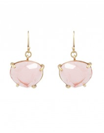 Rose Quartz Drop Earrings | Gerard Yosca
