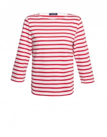 Galathee Striped Cotton T-Shirt | Saint James