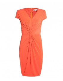 Dalia Linen and Jersey Gathered Dress | MaxMara