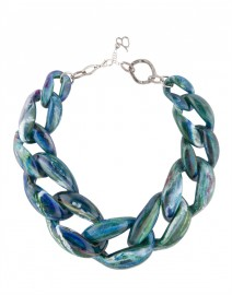 Nate Blue Candy Link Necklace | Diana Broussard