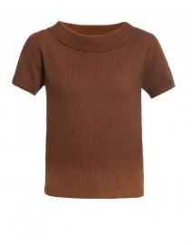 Fontana Brown Ombré Cashmere Sweater | MaxMara