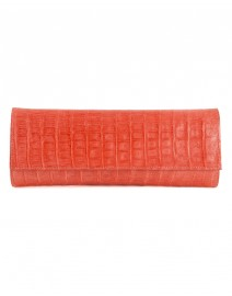 The Renzo Crocodile Clutch | Paola Dangond