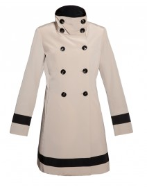 Bekah Scrunch Collar Coat | Jane Post