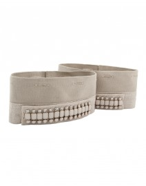 Minerva Embellished Cotton and Linen Wristbands | MaxMara